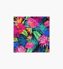 Drive You Mad Hibiscus Pattern Art Board