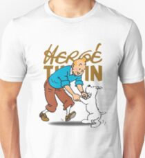 You hit a wall, push through it. There's something you need to know about failure, Tintin: You can never let it defeat you. Unisex T-Shirt
