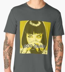 Pulp Fiction - Mia Wallace Men's Premium T-Shirt