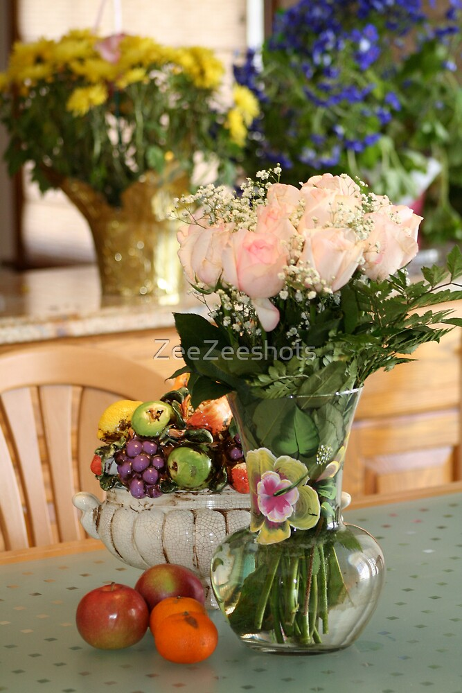 Beautiful Florals And Fruit For You by ZeeZeeshots