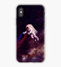 Vinilo o funda para iPhone Shooting Stars - the astronaut artist