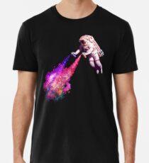 Shooting Stars - the astronaut artist Men's Premium T-Shirt