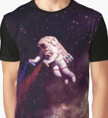 Shooting Stars - the astronaut artist Graphic T-Shirt