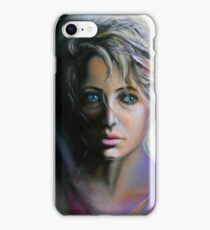 It's now or never to decide, 50-80cm, 2017, oil on canvas iPhone Case/Skin
