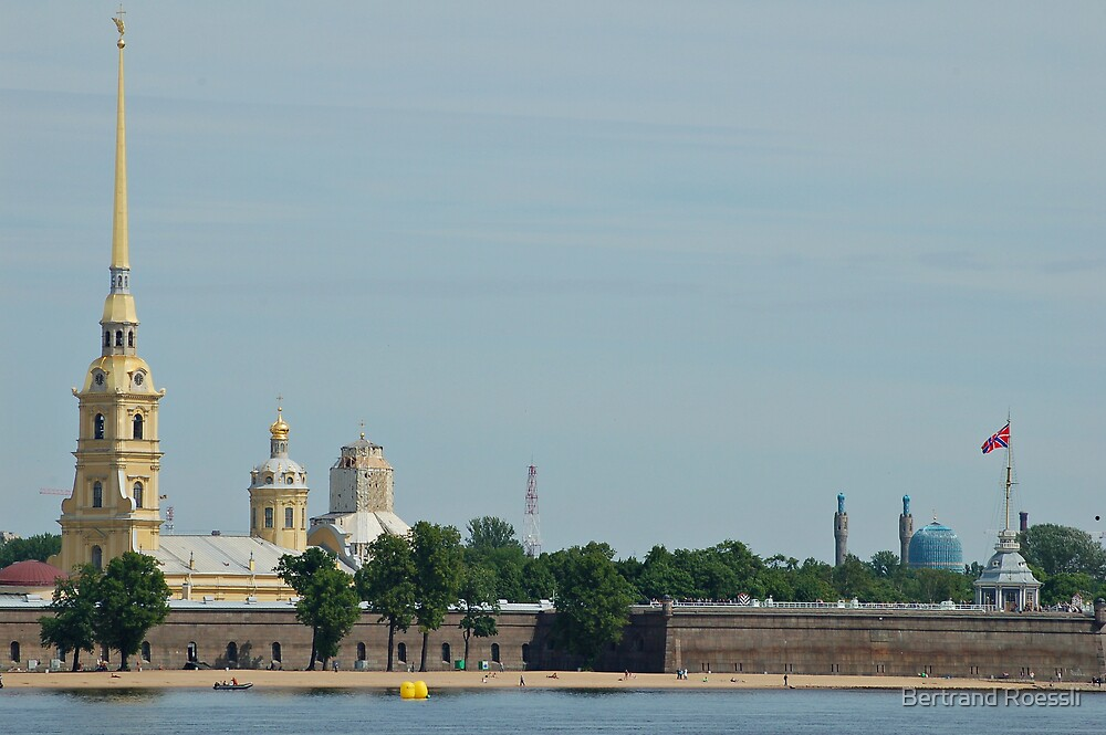 Peter and Paul fortress by Bertrand Roessli