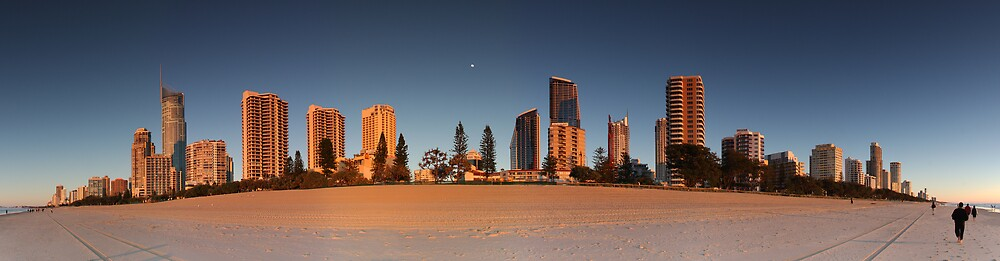 Surfer's Paradise sunrise by David James