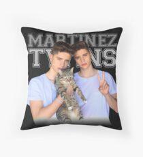 martinez twins - team 10 Throw Pillow