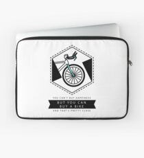Bike Happiness Laptop Sleeve