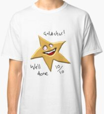 GOLD STAR WELL DONE 10/10 MEME! Classic T-Shirt