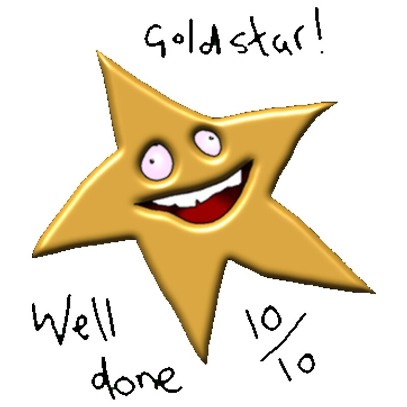 gold star well done 10 10 meme posters by introvertd