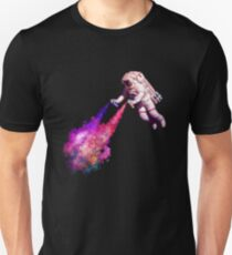 Shooting Stars - the astronaut artist Slim Fit T-Shirt