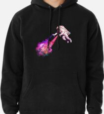 Shooting Stars - the astronaut artist Pullover Hoodie