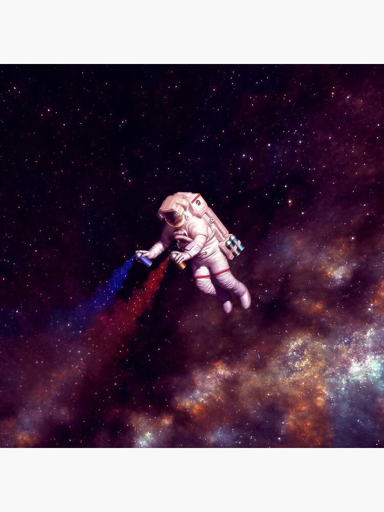 Shooting Stars - der Astronautenkünstler von carlostato