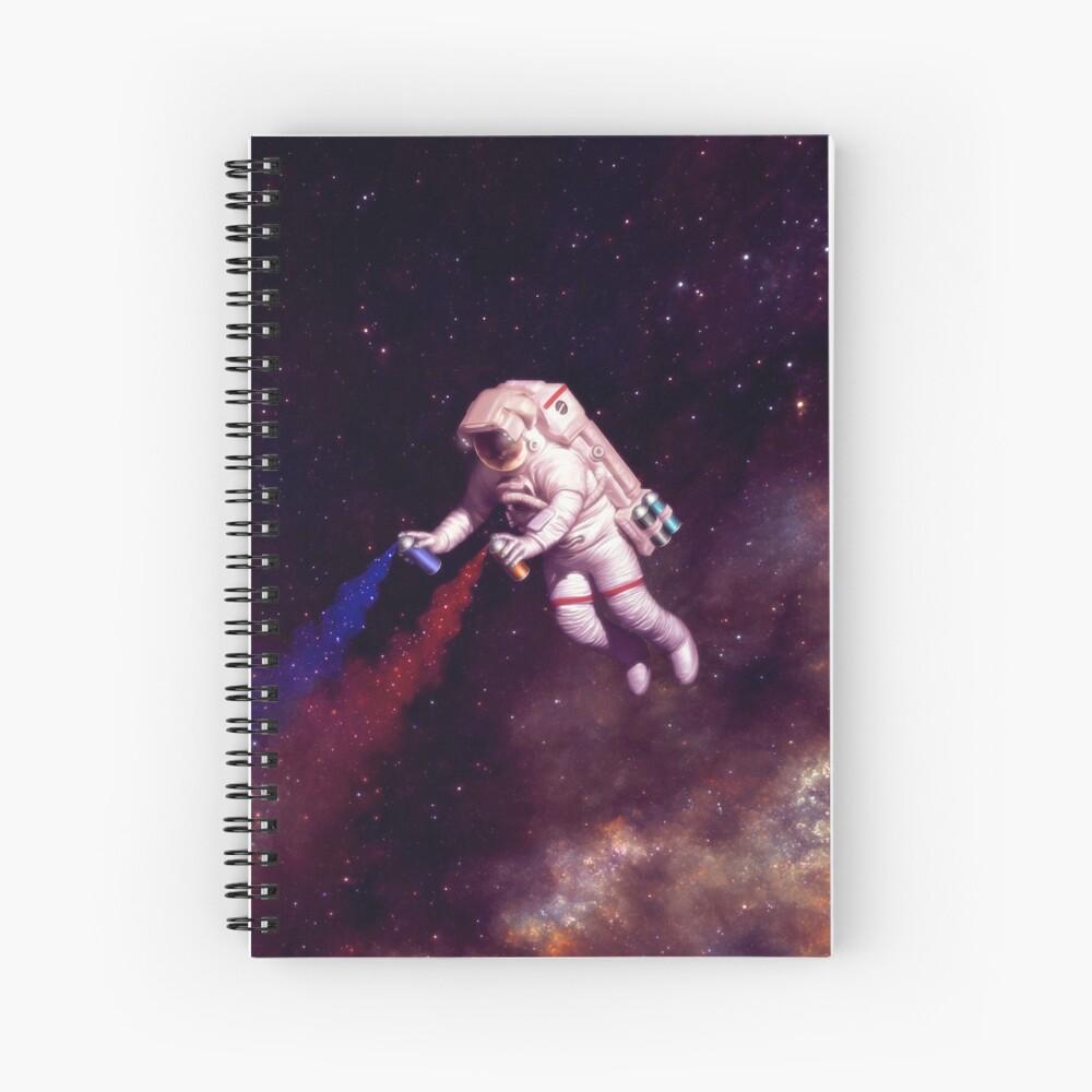 Shooting Stars - der Astronautenkünstler Spiralblock