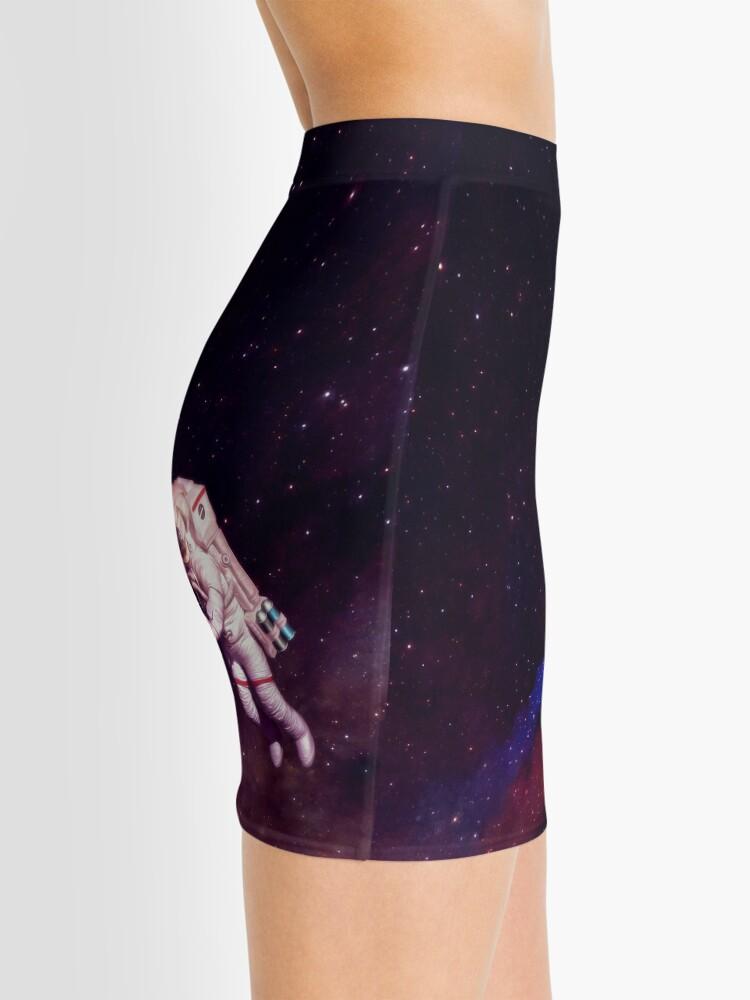 Alternate view of Shooting Stars - the astronaut artist Mini Skirt