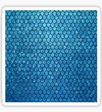 Magical Blue Mermaid Scales Sticker