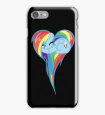 Heart Of Rainbow Dash iPhone Case/Skin