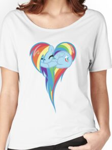 Heart Of Rainbow Dash Women's Relaxed Fit T-Shirt