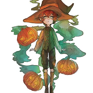 Pumpkin Witch by Tmis