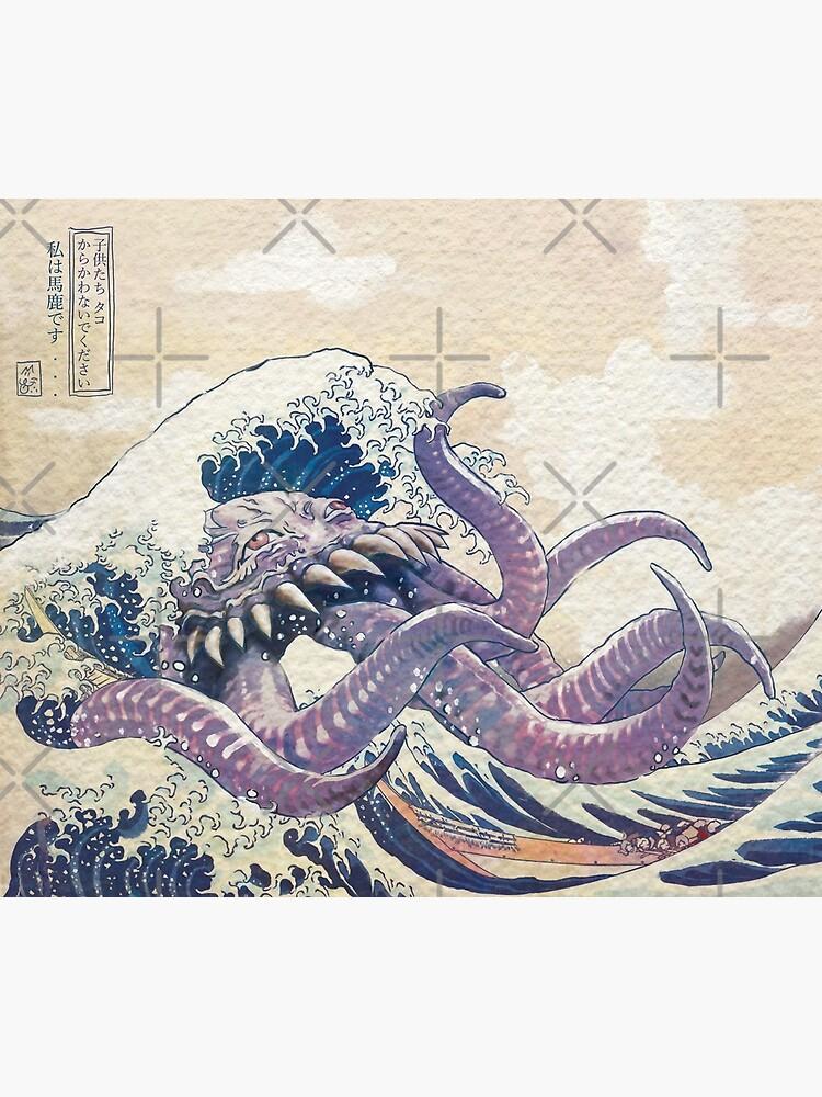 The Great Ultros Off Kanagawa by kingcael