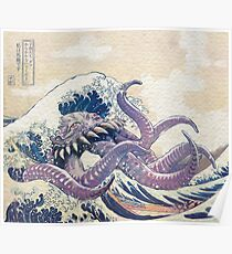 Die großen Ultros aus Kanagawa Poster