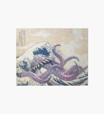 The Great Ultros Off Kanagawa Art Board