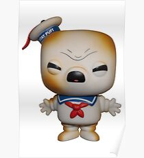 Funko POP Stay Puft Toasted Marshmallow Man  Poster