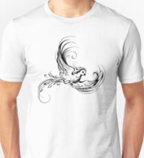 Stylized Bird on White Background T-Shirt