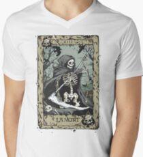 Death Card Men's V-Neck T-Shirt