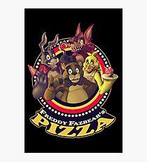Welcome To Freddy Fazbear's Pizza! Photographic Print