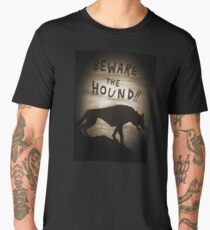 Sherlock Beware the Hound Men's Premium T-Shirt
