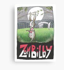 Zombilby (Zombie Bilby) Canvas Print