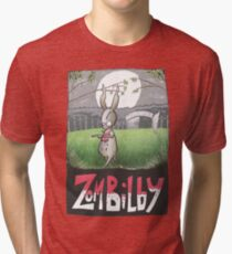 Zombilby (Zombie Bilby) Tri-blend T-Shirt