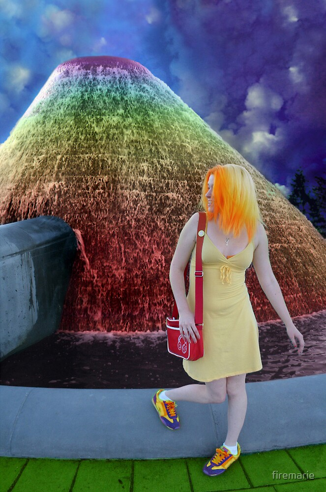 Rainbow by firemarie