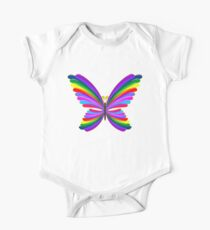 Butterfly Psychedelic Rainbow Kids Clothes