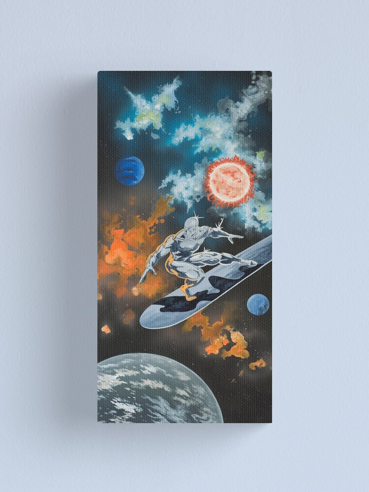 Alternate view of Silver Surfer  Canvas Print