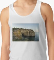 Sea Cave and Agave Bloom Spike - the Magic of Algarve Portugal Tank Top