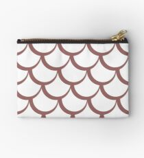 Fish Scales Dusky Pink Studio Pouch