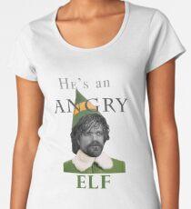 Angry Elf  Women's Premium T-Shirt
