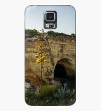 Sea Cave and Agave Bloom Spike - the Magic of Algarve Portugal Case/Skin for Samsung Galaxy