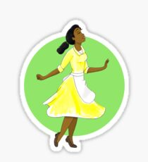 Princess 3 green Sticker