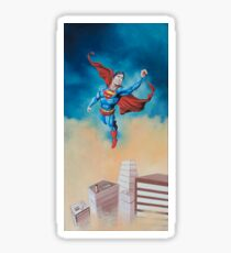 Flying Above - Superman Sticker