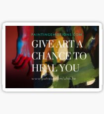let art heal you 1 Sticker