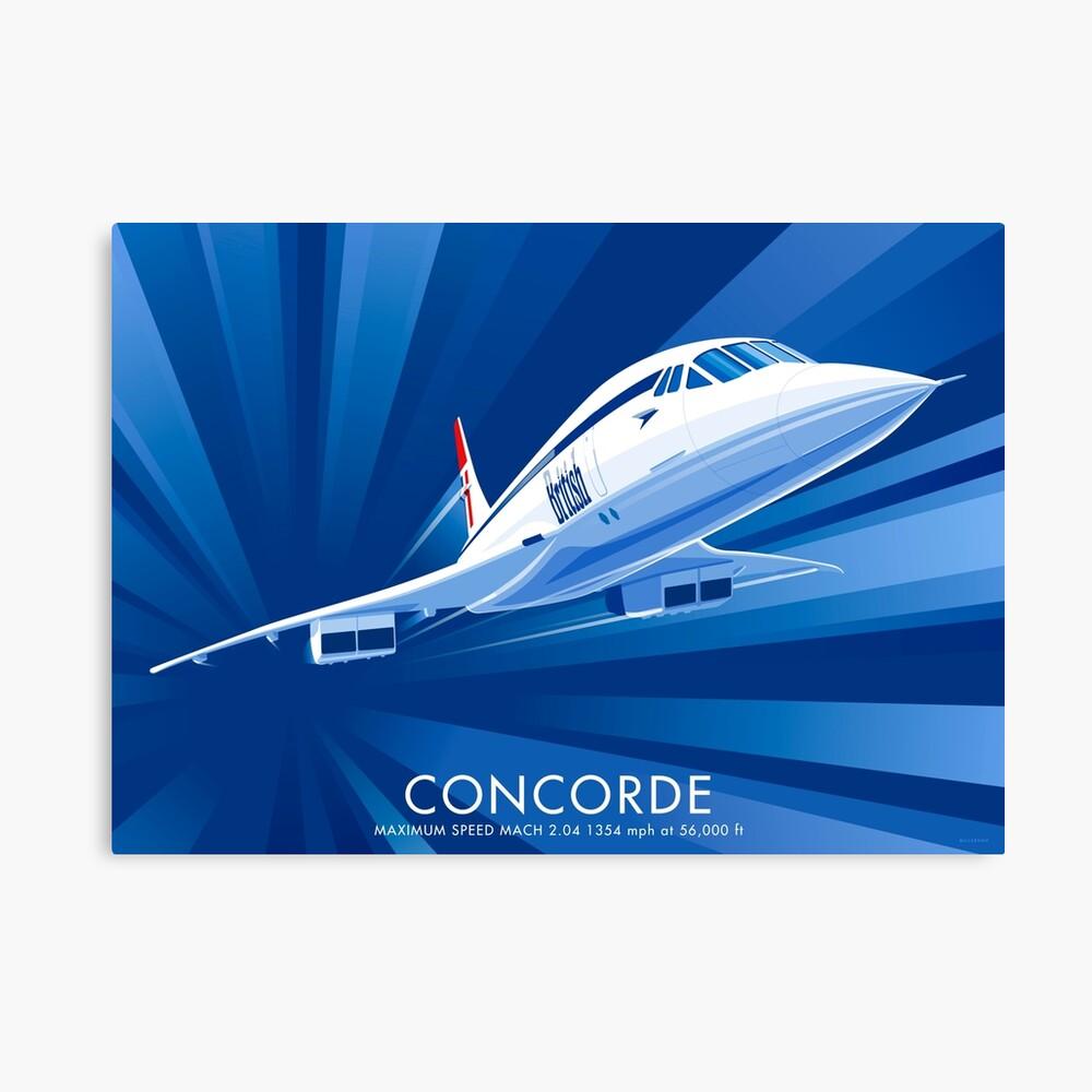 Concorde Lienzo