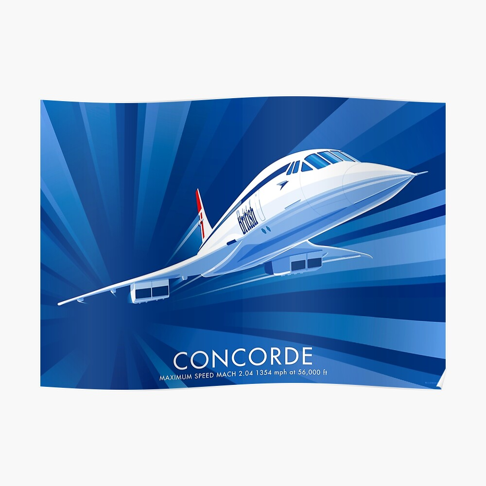 Concorde Póster