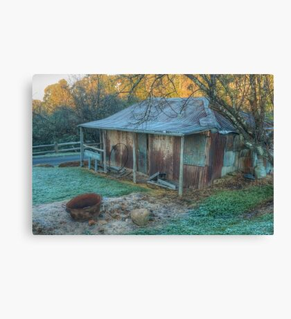 The Hill End Hilton in HDR Canvas Print