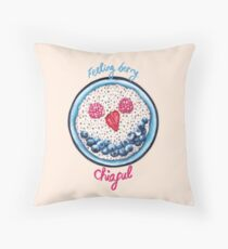Feeling Berry Chiaful Throw Pillow