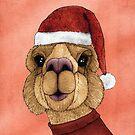 Alpaka Weihnachten von barruf