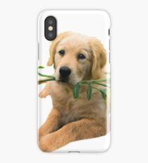 Yellow Lab And Yellow Roses Apparel, cards, gifts iPhone Case