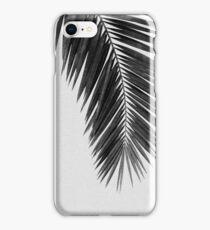 Palm Leaf I Black & White iPhone Case/Skin
